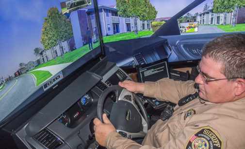 High-tech training gives Sheriff's Office real-world driving challenges