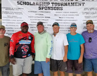 Thirty-two compete in Bass Club's scholarship tournament