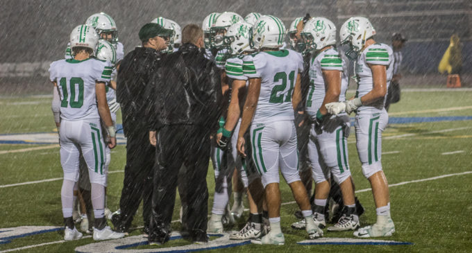 Buckaroos lose to Brock in rain-soaked game