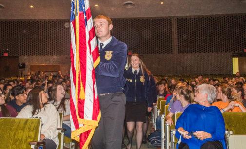 Breckenridge High School celebrates Constitution Week