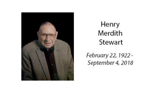 Henry Merdith Stewart