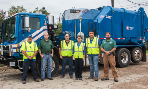 Republic Services delivers new truck for city's trash route