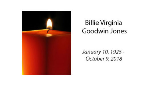 Billie Virginia Goodwin Jones