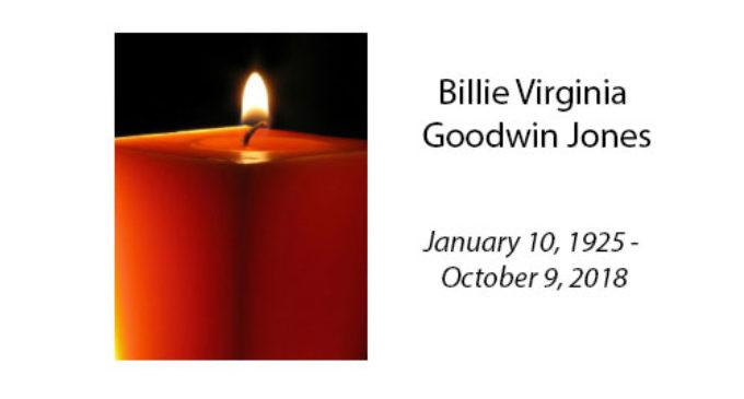 Billie Virginia Goodwin Jones