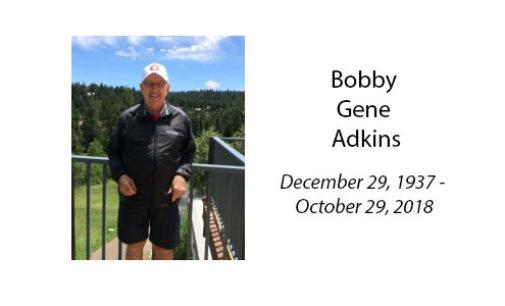 Bobby Gene Adkins