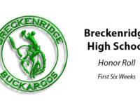 Breckenridge High School announces honor roll