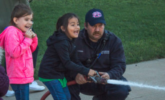 Field trip: Local kindergartners tour Breckenridge fire station