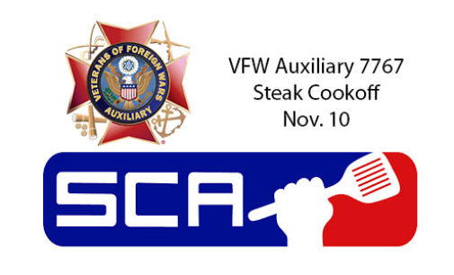 VFW Auxiliary to host fundraising steak cookoff in November