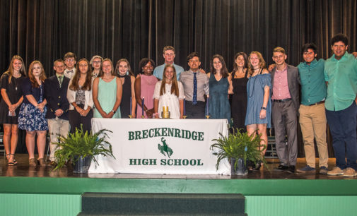 BHS inducts new honor society members