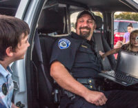 Police Department hosts National Night Out in Breckenridge