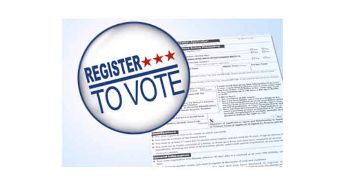 Deadline to register to vote will be Tuesday, Oct. 9
