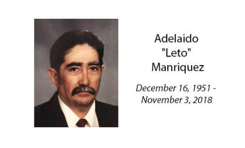 Adelaido 'Leto' Manriquez