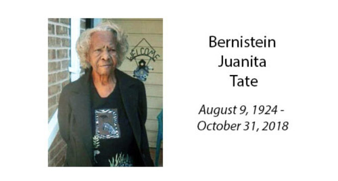 Bernistein Juanita Tate