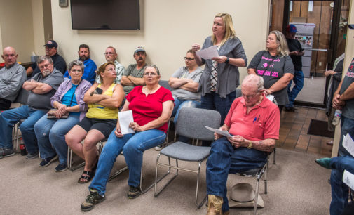 Hearing set for tonight on townhouse zoning request