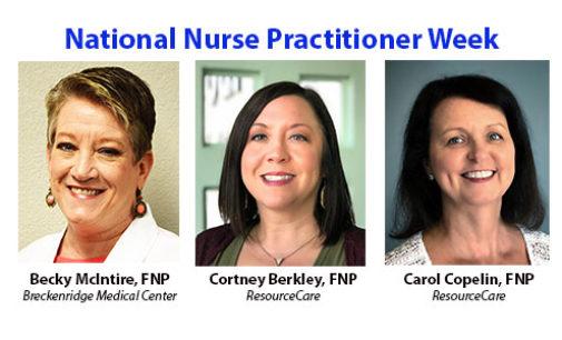 Breckenridge honors Nurse Practitioners this week