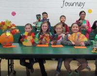 Local fourth graders design turkeys for school's Thanksgiving dinner