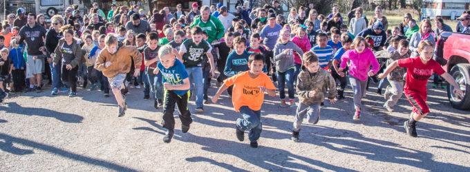 Turkey Trot kicks off Thanksgiving holiday at North Elementary