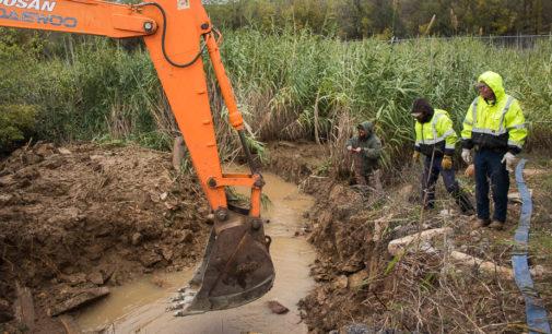 City crews work to restore water service to Breckenridge