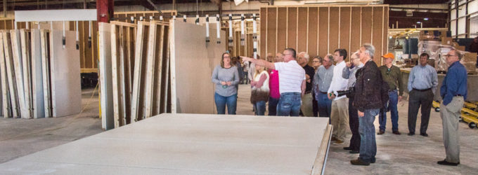 New Vision plant rolls out first finished 'man camp'