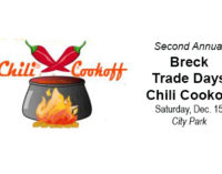 Chili Cookoff, Elks Hoop Shoot scheduled for Saturday