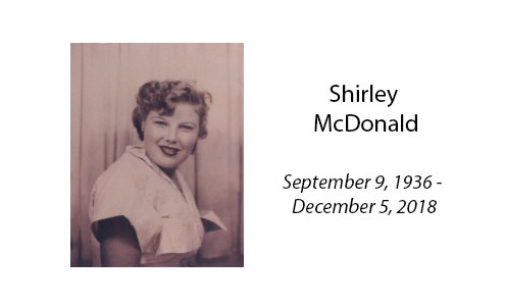 Shirley McDonald