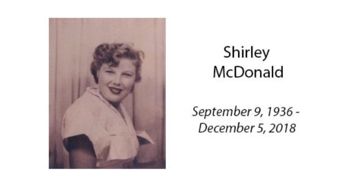 Shirley McDonald