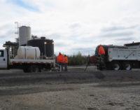 TxDOT pre-treats area roadways in preparation for winter storm