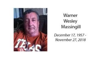 Warner Wesley Massingill
