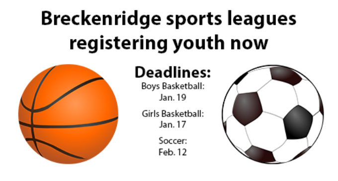Youth basketball, soccer leagues accepting registrations now