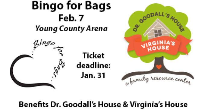 'Bingo for Bags' to benefit Dr. Goodall's House, Virginia's House