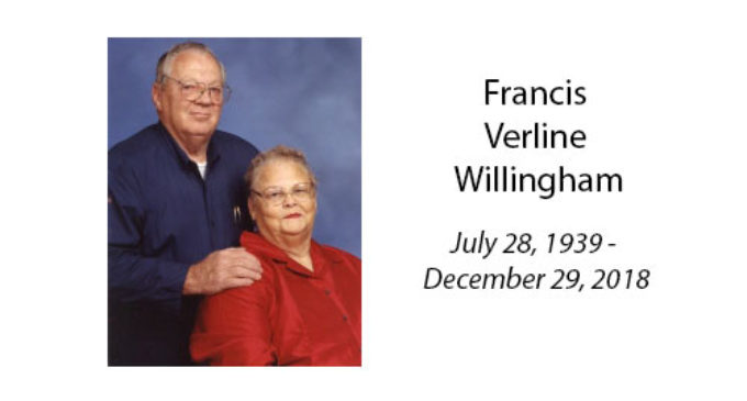 Francis Verline Willingham