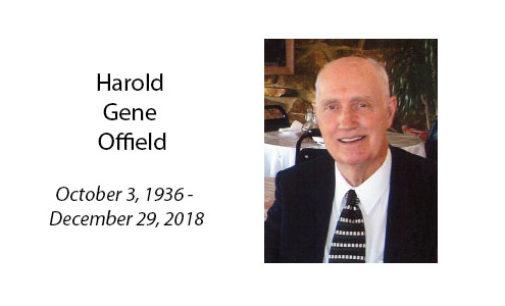 Harold Gene Offield