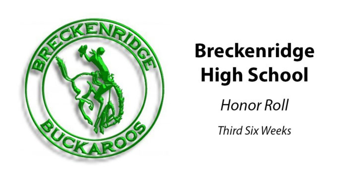 BHS announces honor roll for third six weeks of 2019-2020 school year