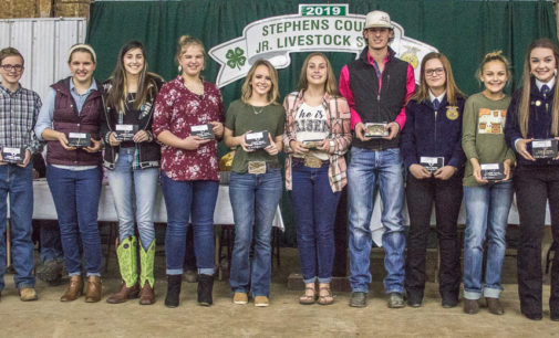 SCJLS awards banquet features Herdsman Awards, buckles and checks