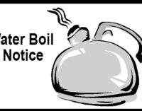 City issues boil water notice
