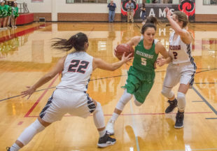 Lady Bucks take on Nocona in playoff game at Mineral Wells