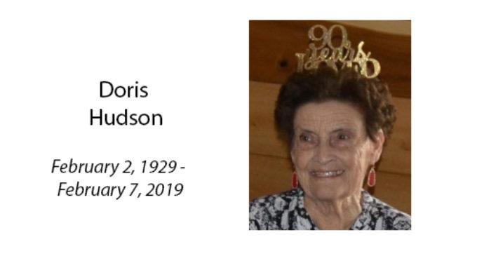 Doris Hudson