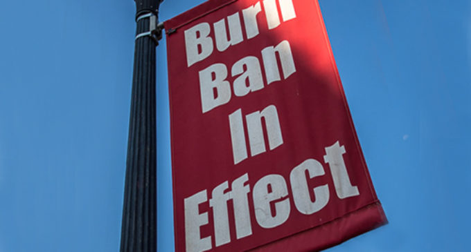 County Commissioners reinstate burn ban for Stephens County
