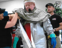 Stephens Memorial Hospital conducts decontamination drill