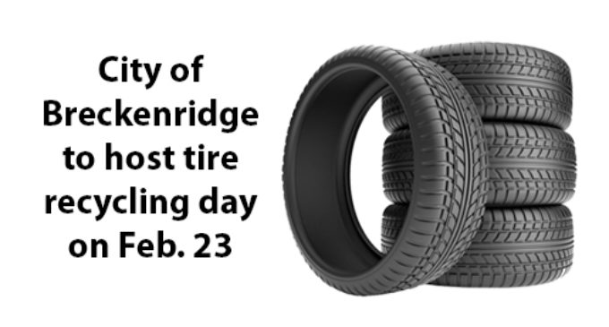 City schedules tire recycling day for Feb. 23