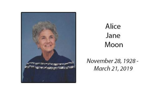 Alice Jane Moon