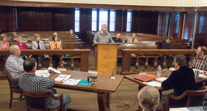 Commissioners vote for county speed limits, continue burn ban