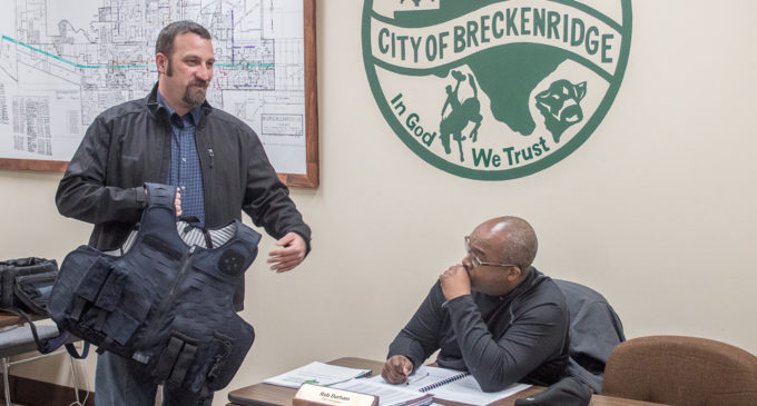 BPD uses grant money for new bulletproof vests