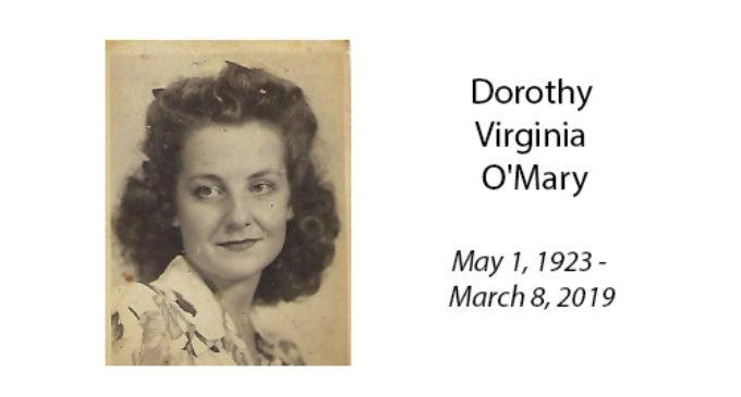 Dorothy Virginia O'Mary