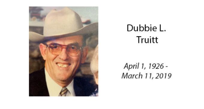 Dubbie L. Truitt