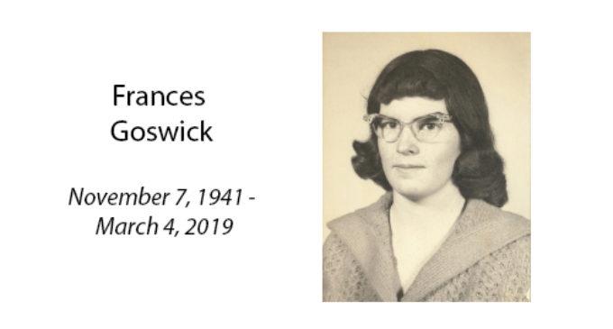 Frances Goswick
