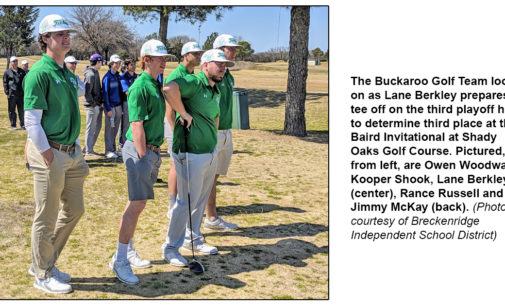 BHS golf team prepares for final pre-district tournament of season