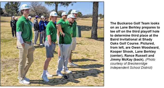 BHS golf team prepares for final pre-district tournament of season