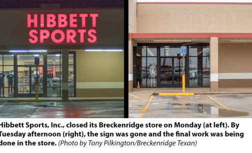 Hibbett Sports closes Breckenridge store