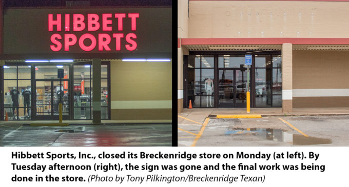Hibbett Sports closes Breckenridge store